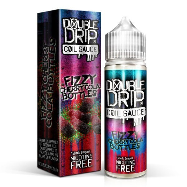 Fizzy Cherry Cola Bottles by Double Drip 50ml