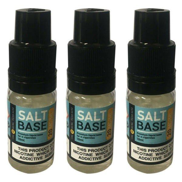 Nic Salt Shot 50VG/50PG - Unflavoured Nicotine Salt Shots - 20MG 10ML