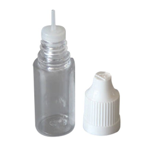 10ml Clear Plastic Dropper Bottle With Pipette And Caps