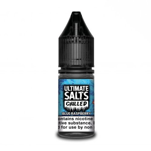 Blue Raspberry by Ultimate Salts Chilled 10pk