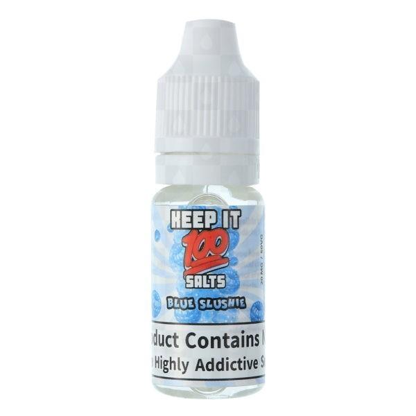 Blue Slushie Iced by Keep It 100 Salts 10ml 10pk