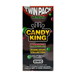 Strawberry Watermelon by Candy King Bubblegum Collection 100ml (2x50ml)