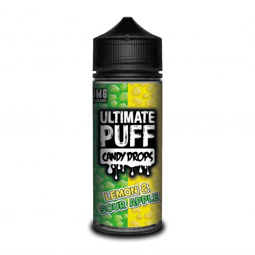 Lemon & Sour Apple by Ultimate Puff Candy Drops 120ml