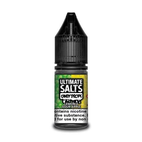 Lemon & Sour Apple by Ultimate Salts Candy Drops 10pk