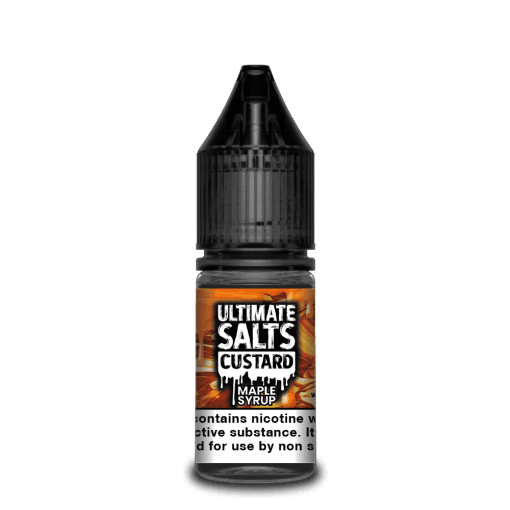 Maple Syrup by Ultimate Salts Custard 10pk