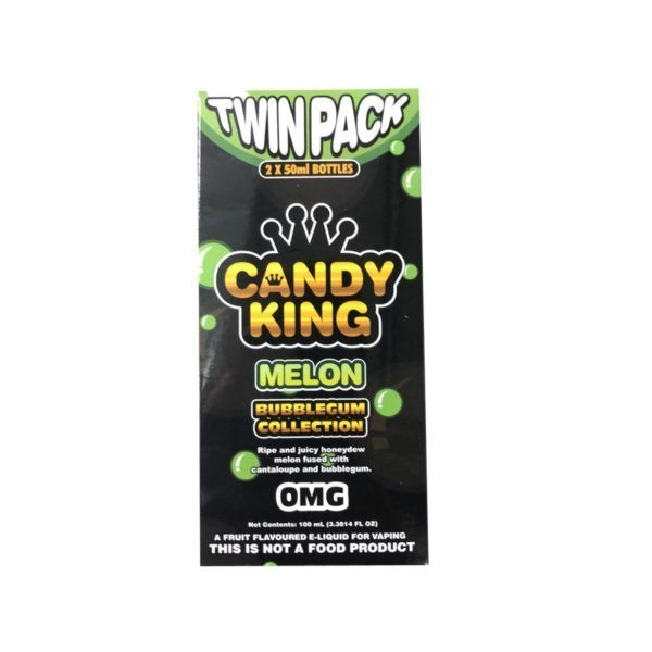 Melon by Candy King Bubblegum Collection 100ml (2x50ml)
