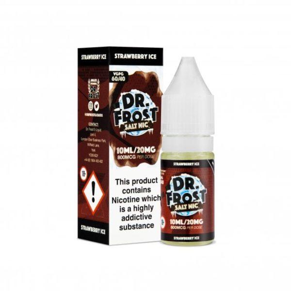 Dr Frost Strawberry Ice Nic Salt 10ml 20mg