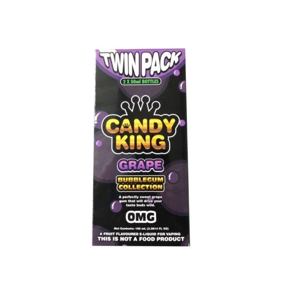 Grape by Candy King Bubblegum Collection 100ml (2x50ml)