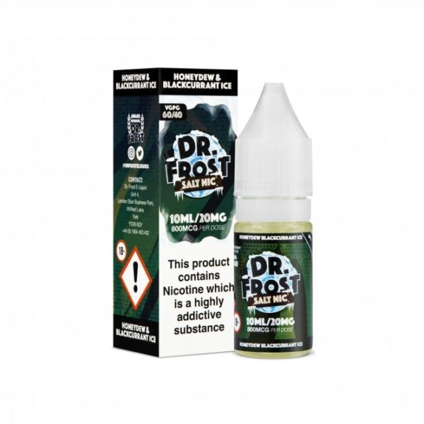 Dr Frost Honeydew Blackcurrant Ice Nic Salt 10ml 20mg