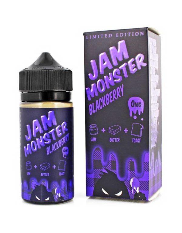 Blackberry Jam On Toast by Jam Monster 100ml