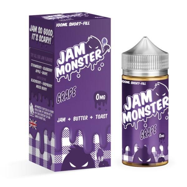 Grape Jam On Toast by Jam Monster 100ml