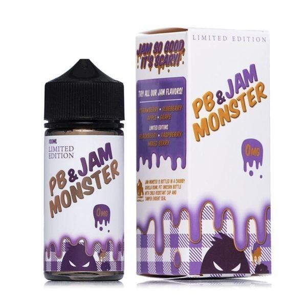 Peanut Butter & Grape Jam On Toast by Jam Monster 100ml