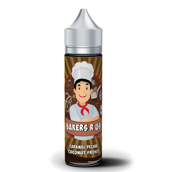 Caramel Pecan Coconut Frost By Bakers R Us 50ml