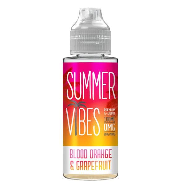 Blood Orange & Grapefruit By Summer Vibes 100ml