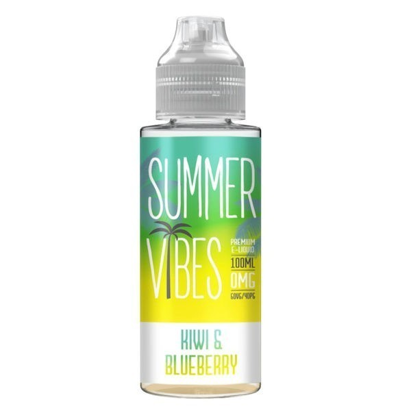 Kiwi & Blueberry By Summer Vibes 100ml