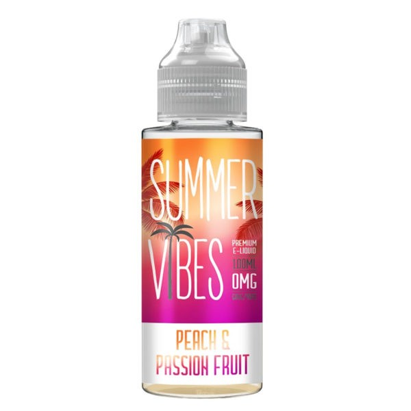 Peach & Passion Fruit By Summer Vibes 100ml