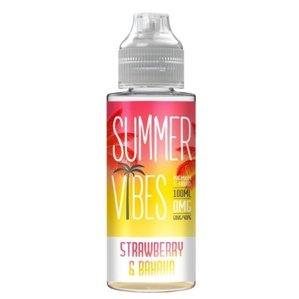 Strawberry & Banana By Summer Vibes 100ml