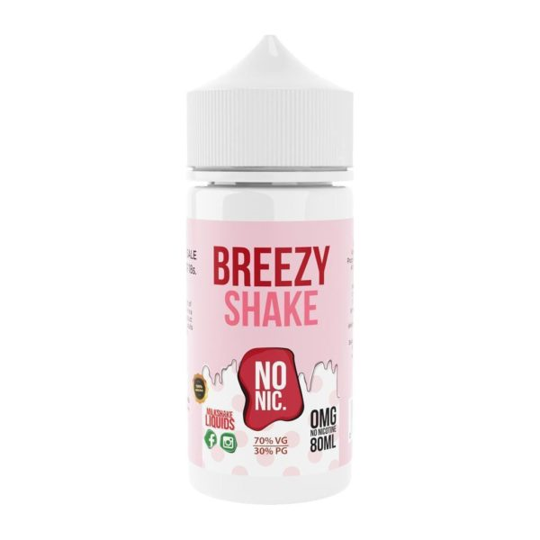 Breezy by Milkshake Liquids 100ml