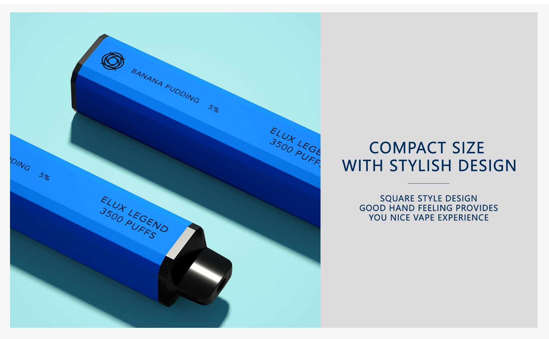 Elux Bars Legend 3500 Disposable Kit - Design