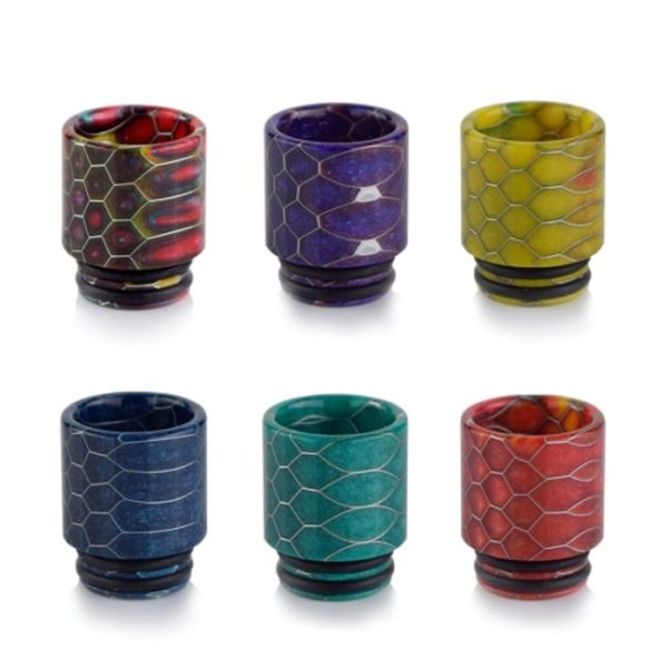 810 Drip Tips 24pc (Mixed Colours)