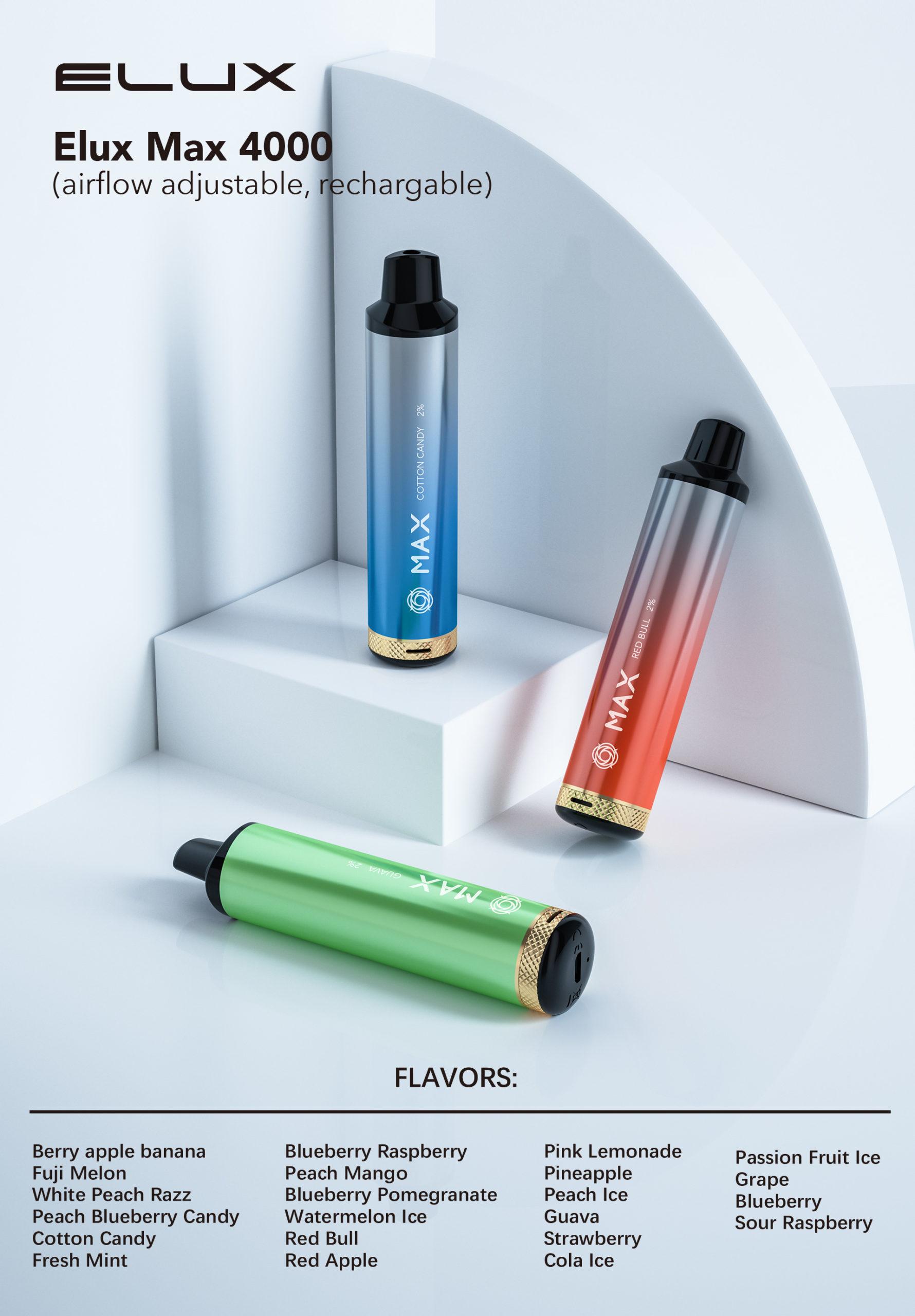 Elux Max 4000 Kit 2% Nicotine